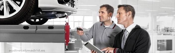 El mantenimiento de su Audi en las mejores manos