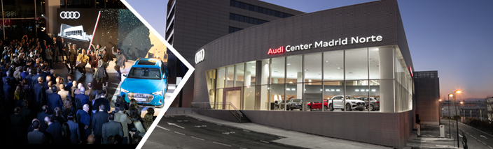 Audi Retail Madrid presenta su nuevo Audi Center Madrid Norte